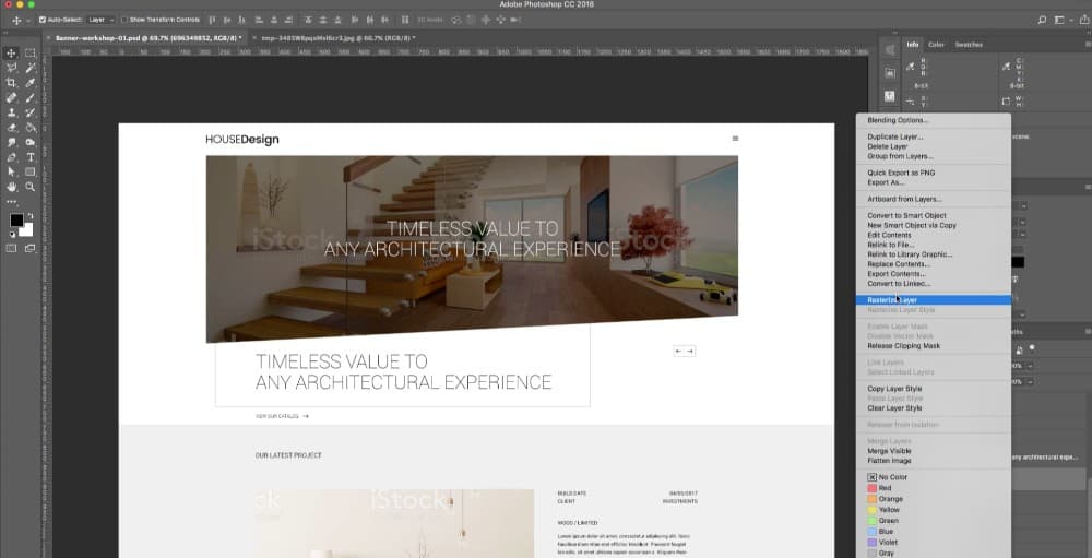 [Update] อัพเดทคอร์ส Web design with Photoshop CC